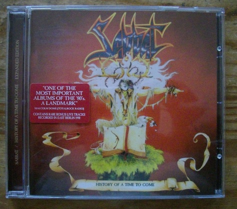 Sabbat - History of a Time to Come CD Reissue