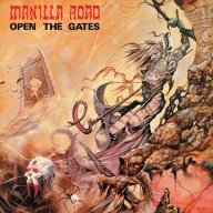 Manilla Road Open the Gates Cover