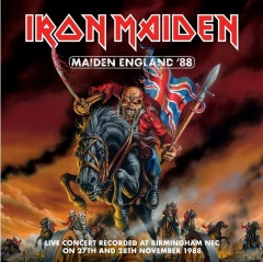 Iron Maiden Maiden England Cover