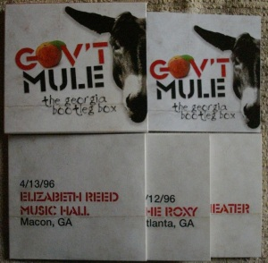 Gov't Mule Georgia Bootleg Box