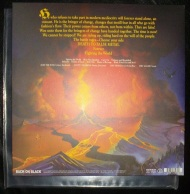 Manowar Fighting the World Vinyl Rear