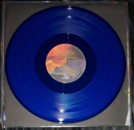 Manowar Fighting the World Blue Vinyl