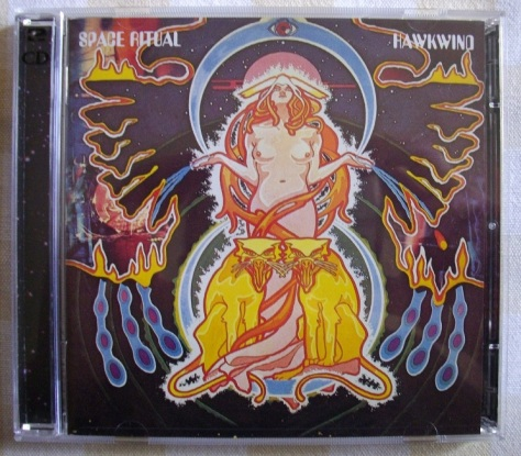 Space Ritual - CD Front Cover