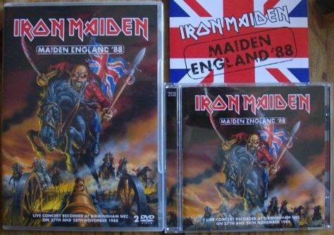 Maiden England '88 - DVD and CD