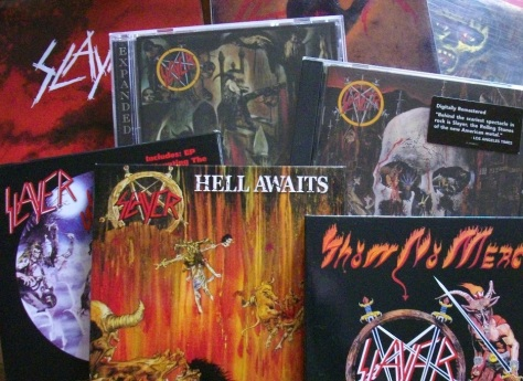 Slayer CDs