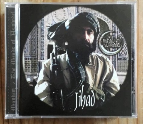 The Meads of Asphodel - Jihad Cover