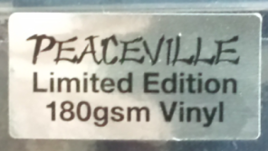 Peaceville Ltd Ed Sticker