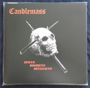 Candlemass Epicus Doomicus Metallicus Front LP Cover