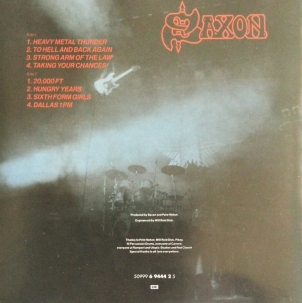 Original Back Cover