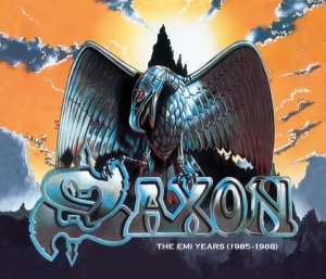Saxon's Emi Years 1985 - 1988 Box