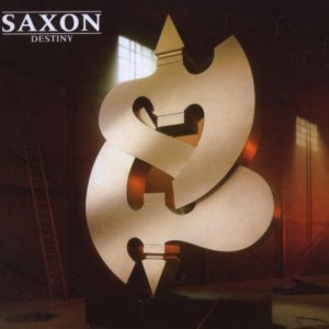 Saxon - Destiny (1988) Even the logo was wrong!