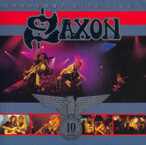 Saxon - Greatest Hits Live! (1990)