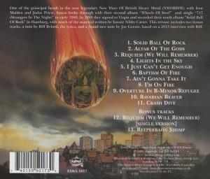 Back Cover - Demon reissue with bonus tracks