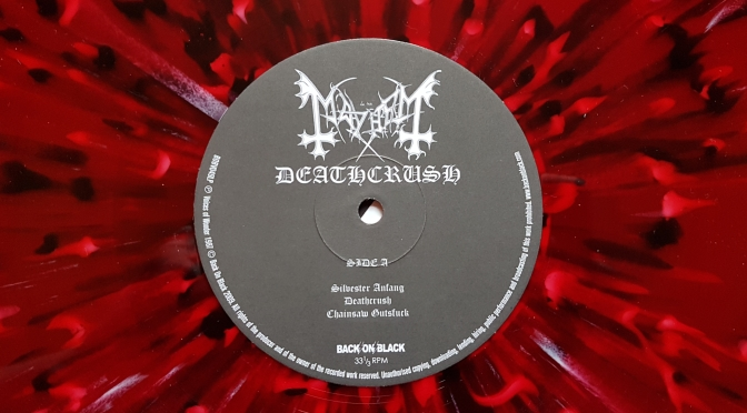 Mayhem – Deathcrush (Review)